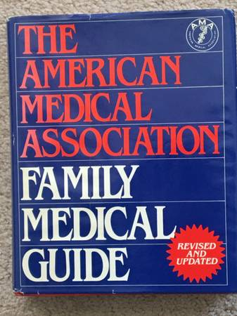 Photo American Medical Association Family Medical Guilde,Classic Ref. Book - $20 (Lansdale)