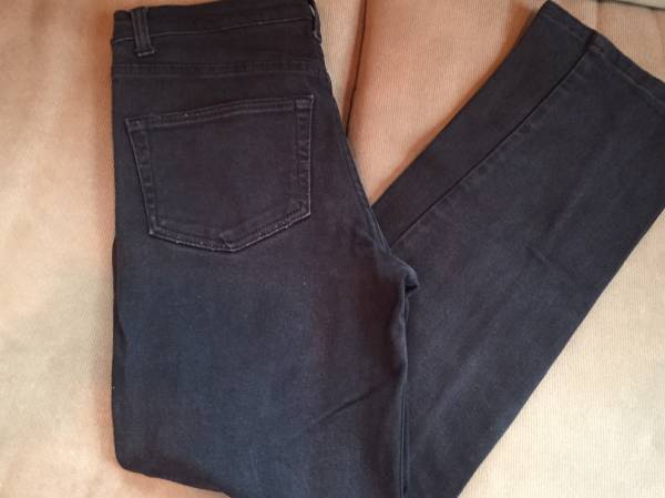 Photo American Outpost Womens Black Mid-Rise Jeans Size 6 - $6