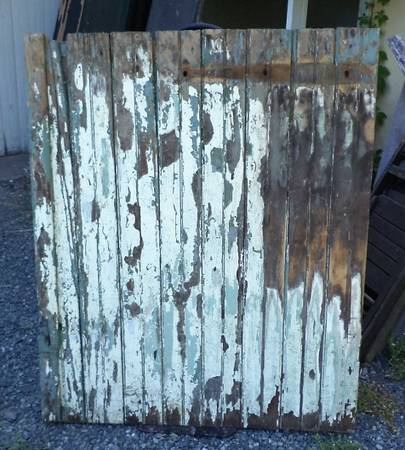 Photo Barn Door, Classic Z Frame, Old Farm Salvage - $75 (Pottstown PA)