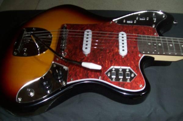 Photo Beautiful Jaguar Electric Guitar (copy) wTremolo  Gigbag - $149 (Lehighton)