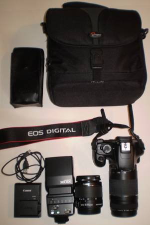 Photo Canon EOS Rebel T3 Package - Gently Used - $250 (Allentown)