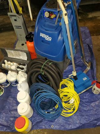 Photo Carpet Cleaning start up complete setup - $1,800 (Allentown)