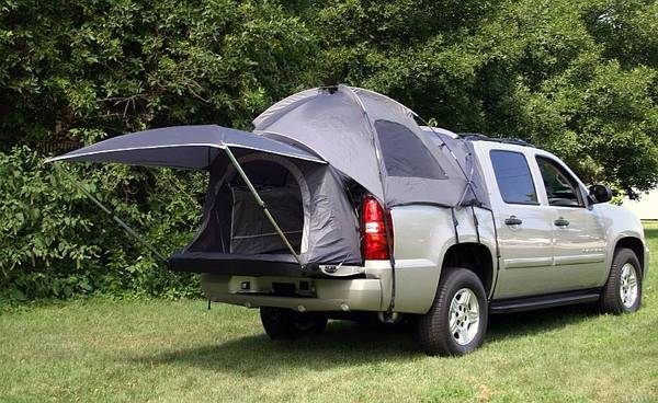 Photo Chevy Avalanche OEM complete tent set up - $250 (EASTON)