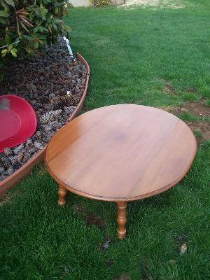 Photo Coffee Table with Drop Down Leafs - $28 (Emmaus)
