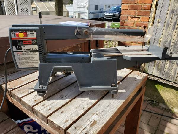 Photo Craftsman 18quot Scroll Saw - Used - $175 (Springtown)