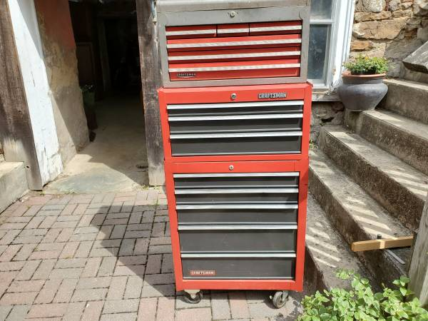 Photo Craftsman Rolling Toolboxes - Used - $225 (Springtown)