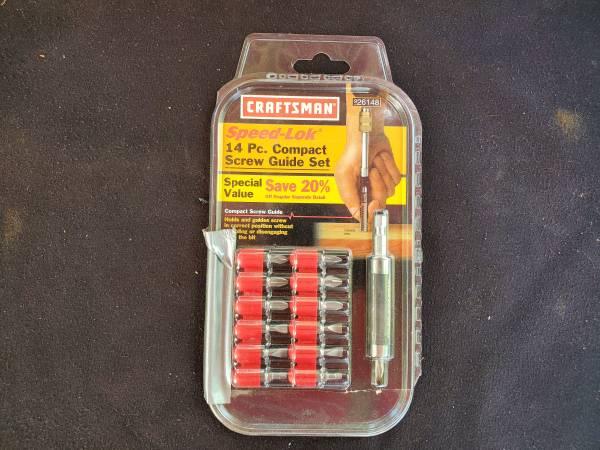 Photo Craftsman Speed-lok Screw Guide Set - $17 (Springtown)