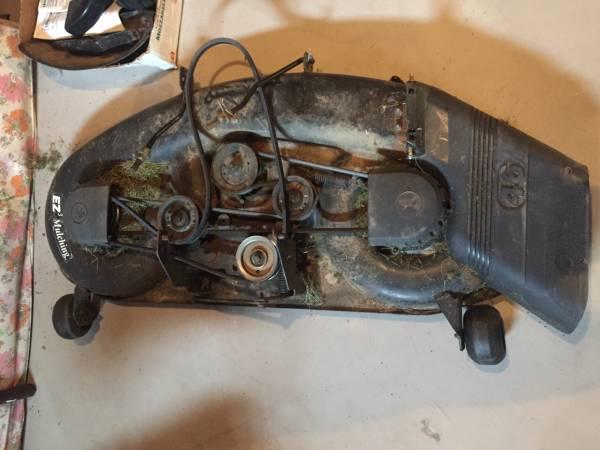 Photo Craftsman Tractor 46 Mower Deck - $325 (Bath)