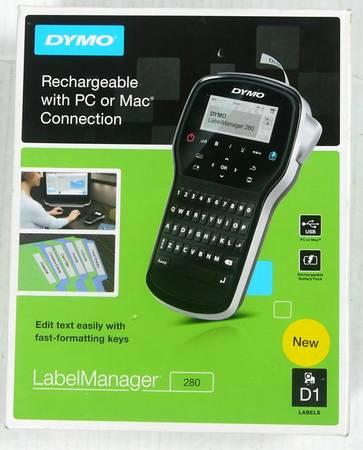 Photo DYMO Label Maker  LabelManager 280 Rechargeable Portable Label Maker - $25 (Breinigsville, PA)