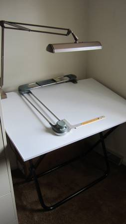Photo Drafting Table  Drafting Machine - $150 (Wescosville)
