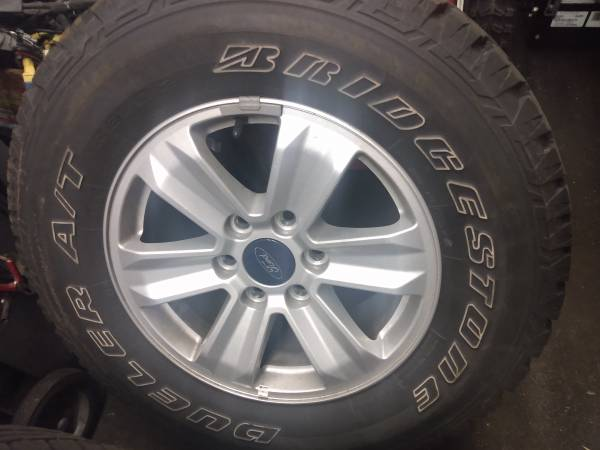 Photo Ford f150 wheels and tires - $500 (Allentown pa)