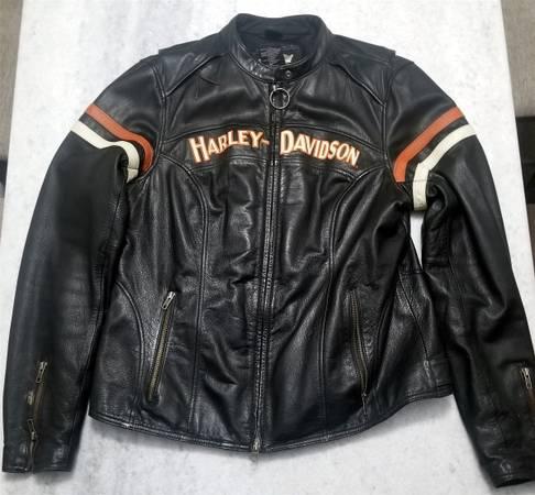 Photo Harley Davidson Womens LEATHER JACKET - $145 (Allentown)