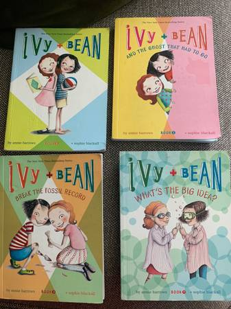 Photo Ivy and bean 1-3 and 7 - $7 (Allentown)