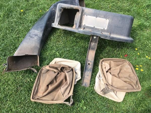 Photo John Deere bagger system set up - $150 (Alburtis)