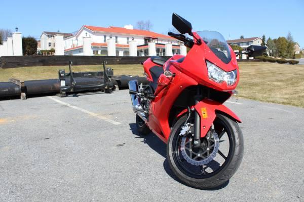 Photo Kawasaki Ninja 250R - $3,200 (WHITEHALL)