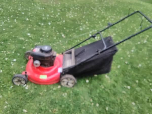 Photo Lawnmower MTD Yard Machines Bagger - $95 (DOYLESTOWN)
