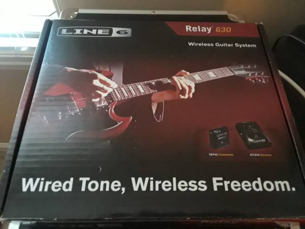Photo Line 6 Relay G30 Guitar Wireless System - $140 (Quakertown area)