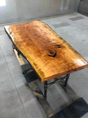 Live Edge Cherry Wood Coffee Table 650 Furniture For Sale
