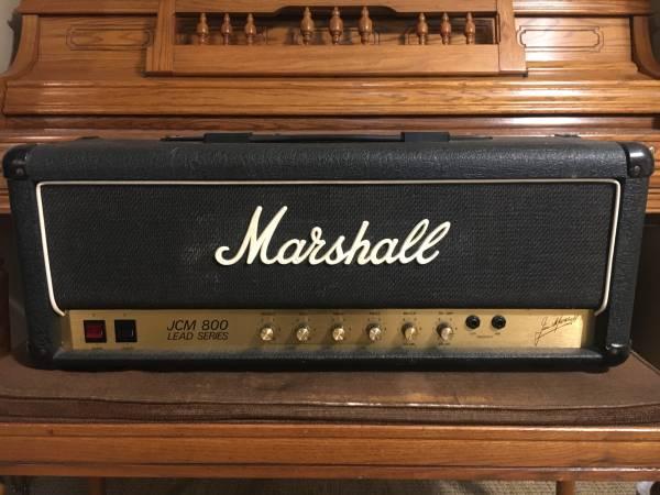 Photo Marshall JCM 800 2203 Vintage 100W Guitar Amp Head - $1,500 (Mertztown)