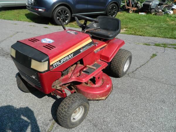 Photo Murray riding mower needs work - $75 (Boyertown pa)