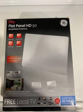 Photo NEW GE Flat Panel Pro Indoor HD TV Antenna - $25 (Bethlehem)