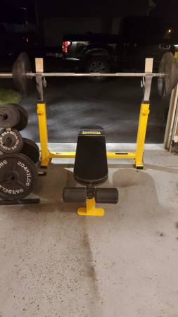 Photo Olympic weight set - $350 (Macungie)