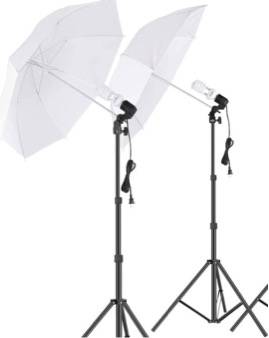 Photo Photography(3) Camera Photos, Videos, Studio Daylight Umbrella Lights - $55 (Laurys Station)