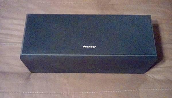 Photo Pioneer Cent.ch.speaker,3-way,8 ohm,100 watt.Good cond. Please call  - $24 (Whitehall)