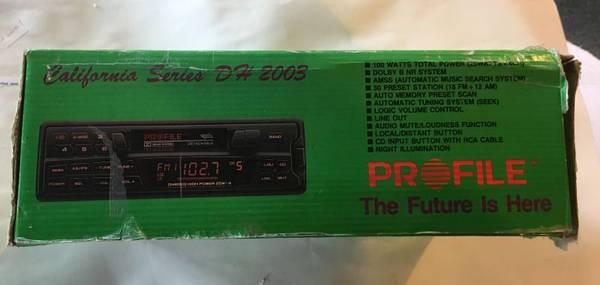 Photo Profle AMFM cassette car stereo - $60 (Palmer Township Easton PA)
