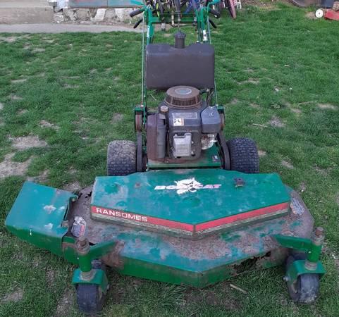 Photo Ransomes Bobcat 48 Inch Walk-Behind Mower - SaleTrade (John Deere) - $1,200 (Phillipsburg-Easton)