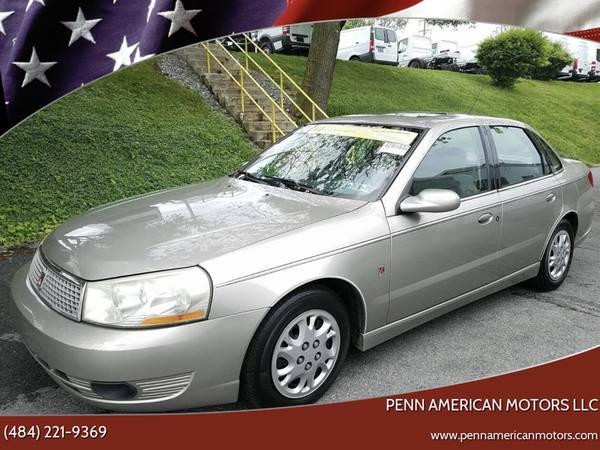 Photo SALE 2003 SATURN LS,CLEAN TITLE, DRIVES OK, CHEAP CAR,NEW INSPECTION - $1500 (ALLENTOWN)
