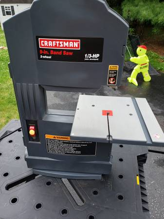 Photo Sears Craftsman 9 inch band saw - $75 (Allentown)