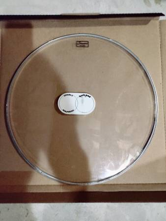 Photo Slingerland 24 inch clear bass drum set head excellent condition - $15 (Pennsburg)