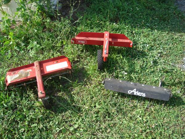 Photo Thatchers-Walk Behind Mowers - $15 (Emmaus)