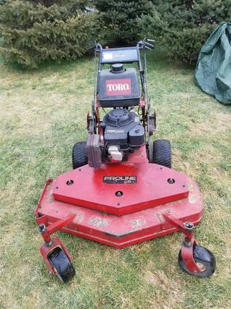 Photo Toro Proline 48quot commercial walk behind zero turn - $1,100 (BETHLEHEM)