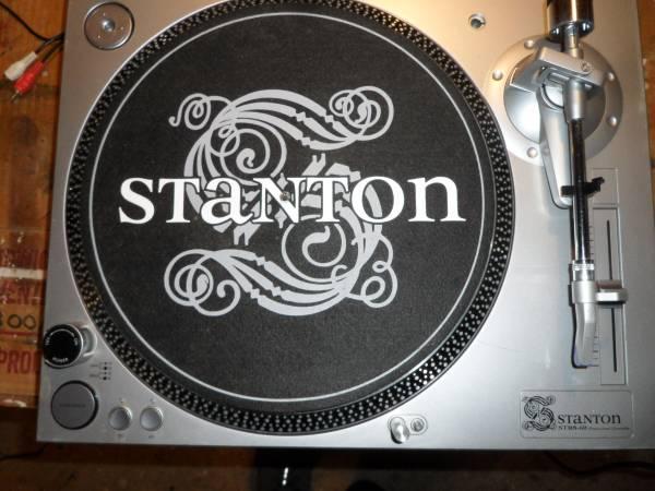 Photo Two Stanton STR8-60 DJ Turntables - $180 (KINTNERSVILLE)