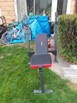 Photo Weider Pro Bench Press Workout Bench - $25 (Emmaus)