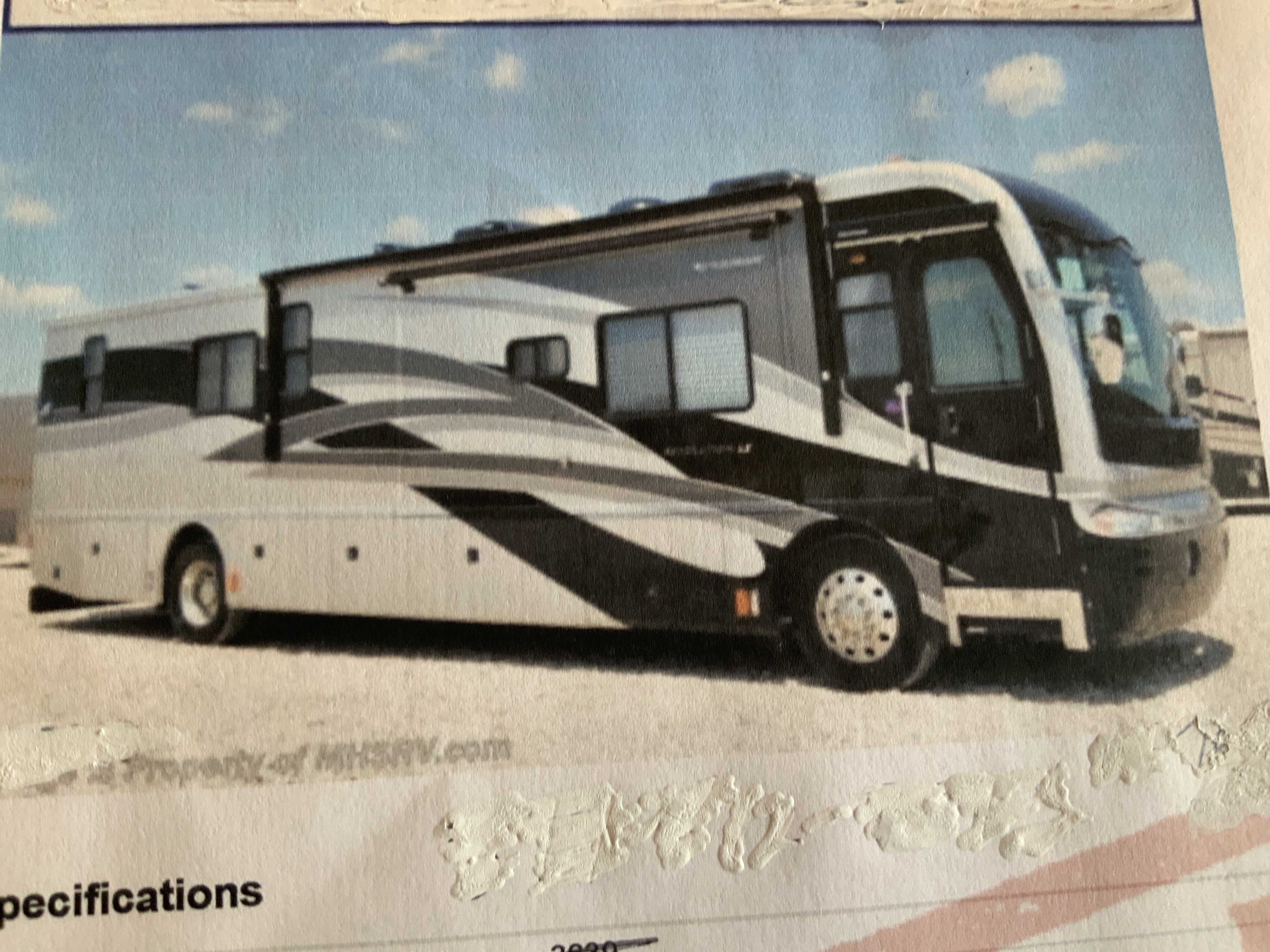 Photo Used 2006 Fleetwood Class A RV  $129969