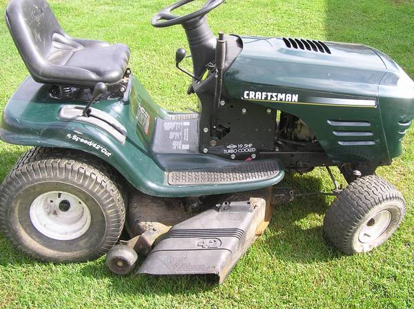 Photo craftsman lawn tractor - $250 (whitehall)
