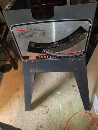 Photo craftsman table saw - $150 (Orefield)