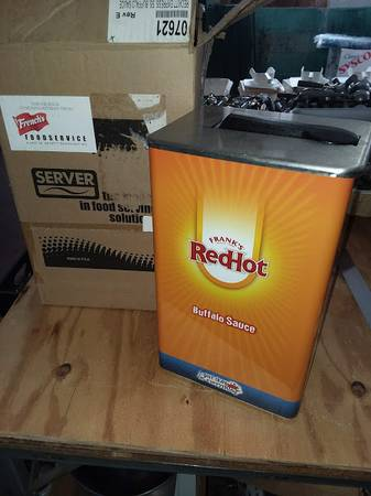 Photo quotFrank39squot Red Hot Metal Dispenser - $25 (Roseto)
