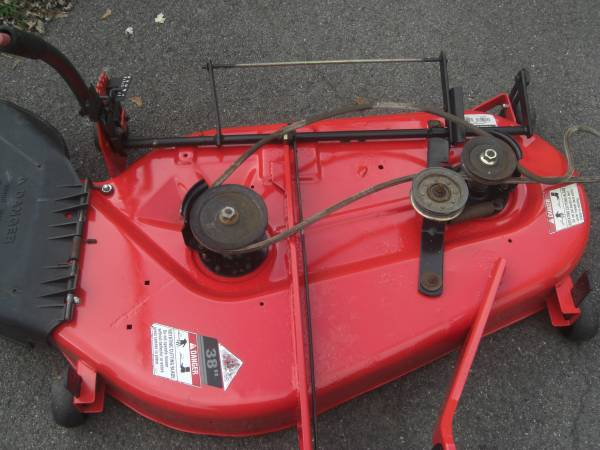 Photo simplicity mower deck (auburn)