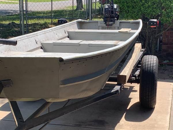 Photo 14 Jon Boat 9.9hp motor - $2,000 (Marlow)
