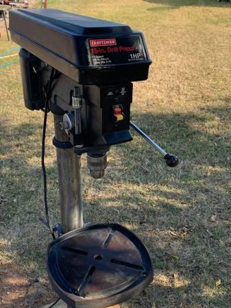 Photo 15quot Floor Mount Drill Press - $425 (Wichita Falls)