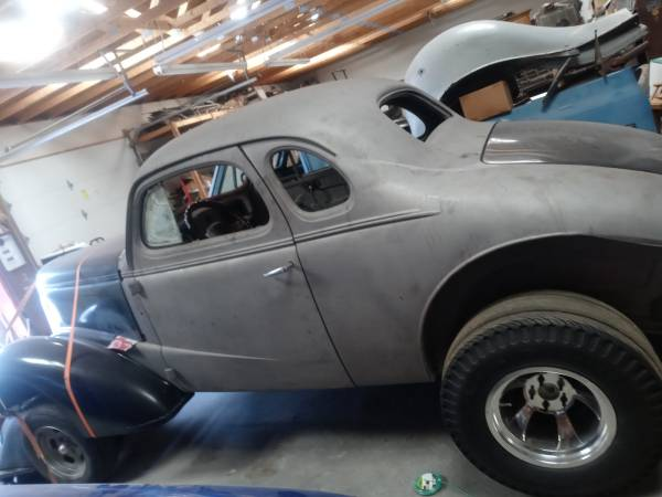 Photo 1937 Chevy gasser project or street rod - $18,500 (Los Lunas)