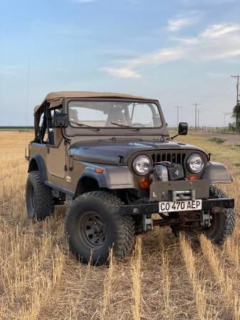 Photo 1983 Jeep CJ7 - $12,500 (Pa)