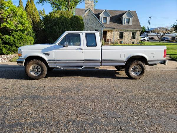 Photo 1997 Ford F-250 7.3L Diesel 4x4 Extended Cab - $13,500 (Canyon)