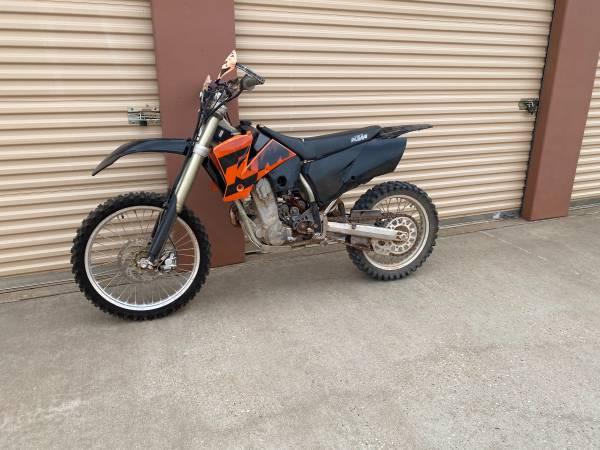 Photo 2004 KTM 450 EXC - $1,800 (Lubbock)
