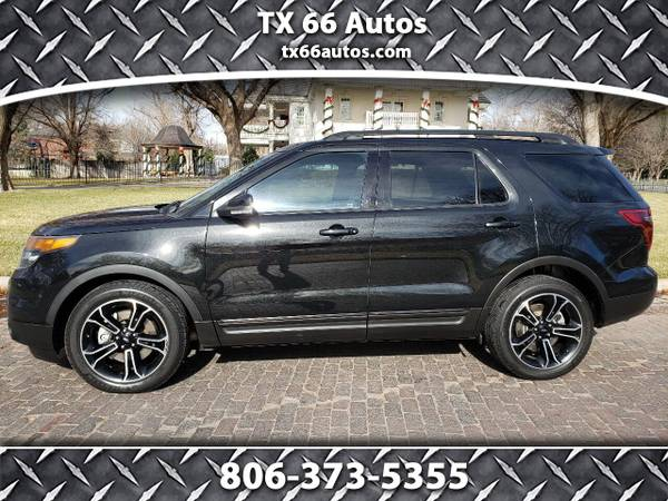 Photo 2015 Ford Explorer 4WD 4dr Sport - $17900 (Amarillo TX 79106)