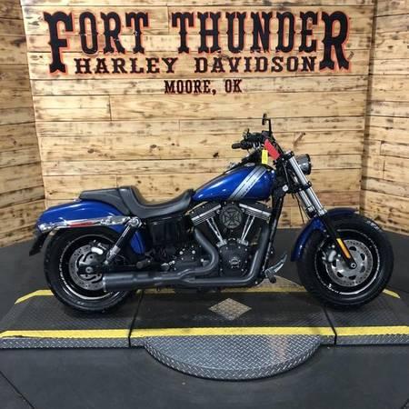 Photo 2015 Harley-Davidson Dyna Fat Bob (FXDF) - $12,999 (Moore)